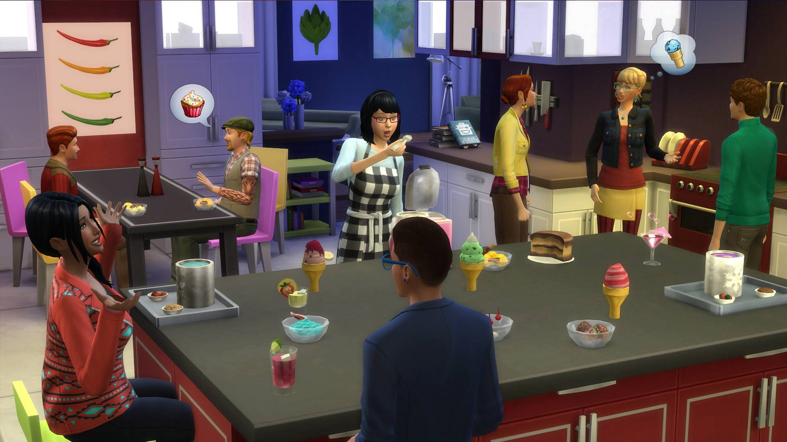 The Sims 4 Cucina Perfetta Stuff Pack