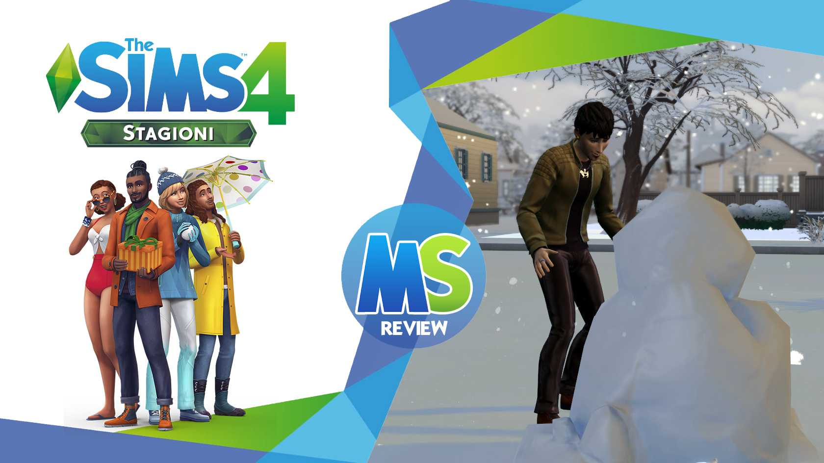 the sims 4 Stagioni review logo