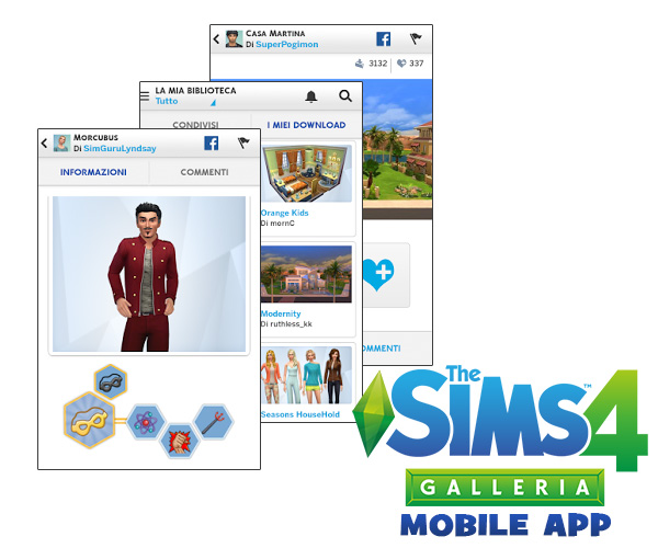 ts4 gallery mobile app