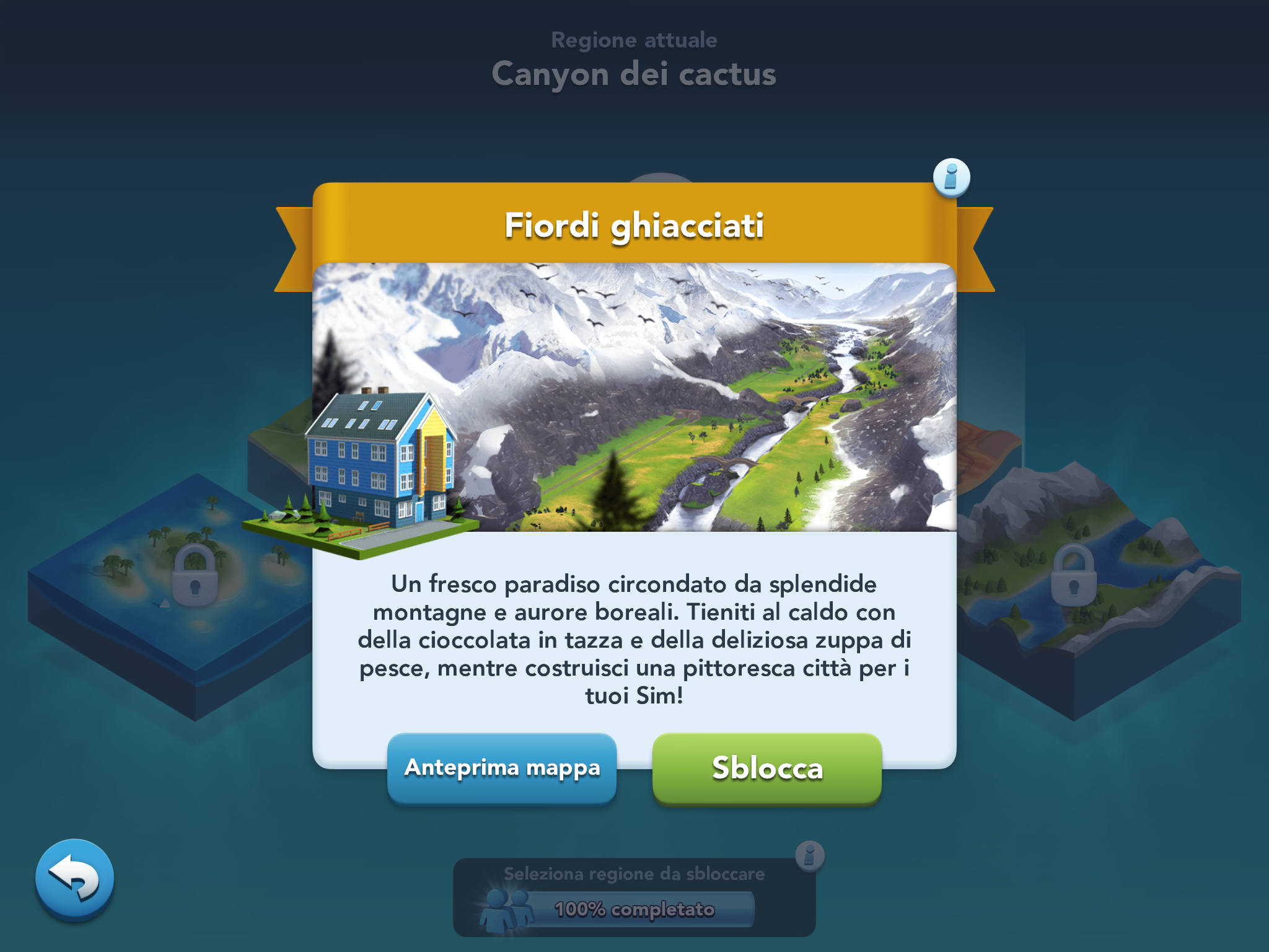 SimCity BuildIt Fiordi