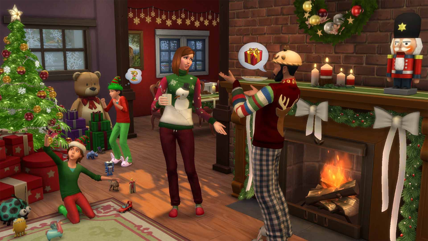 The Sims 4 Festive Update