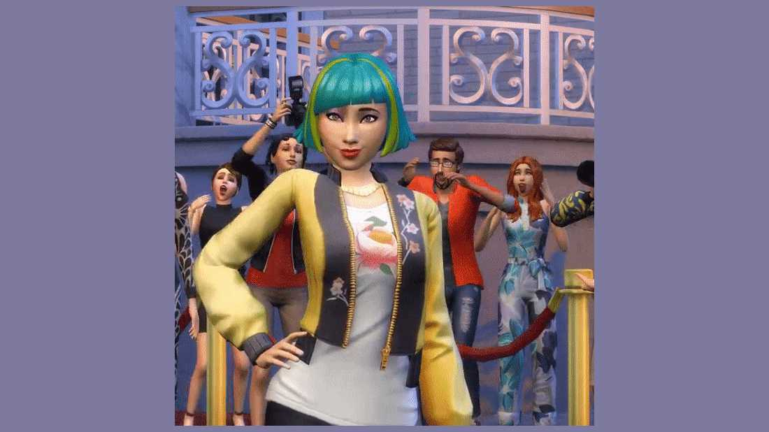 The Sims 4 Superstar