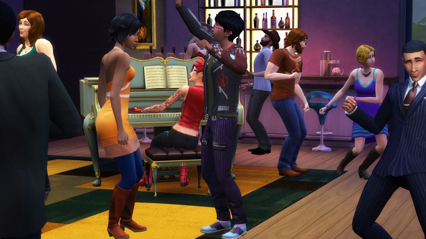 The Sims 4 Stagioni Party