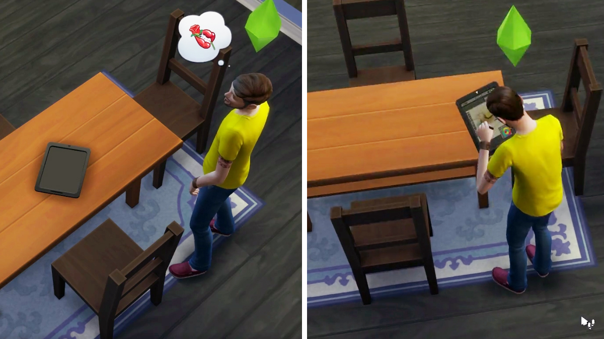 The Sims 4 tavoletta Grafica