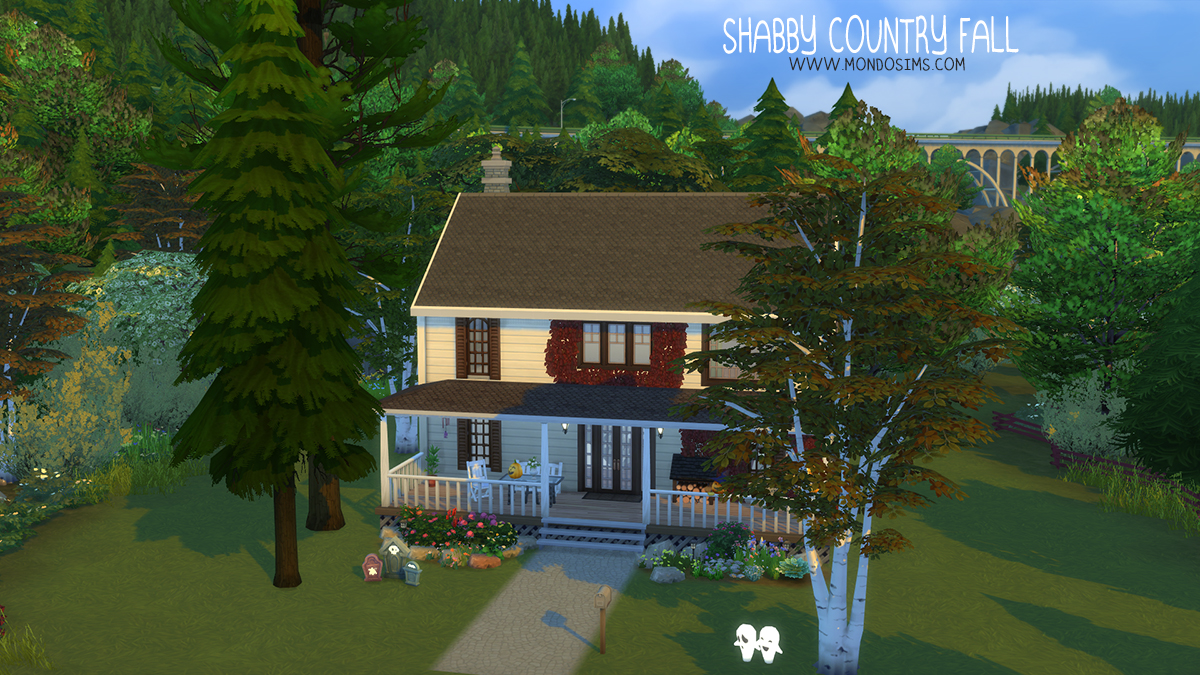 Shabby Country Fall the sims download