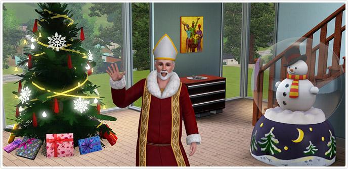 Addobbi Natalizi The Sims 3.Novita Su The Sims Il Mondo Di The Sims A Portata Di Click