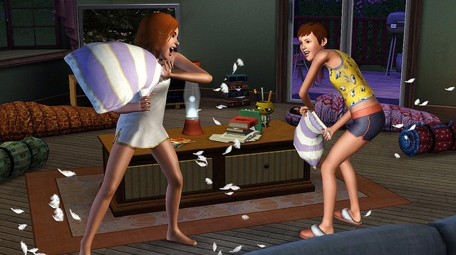 the sims 3 generations attivita doposcuola