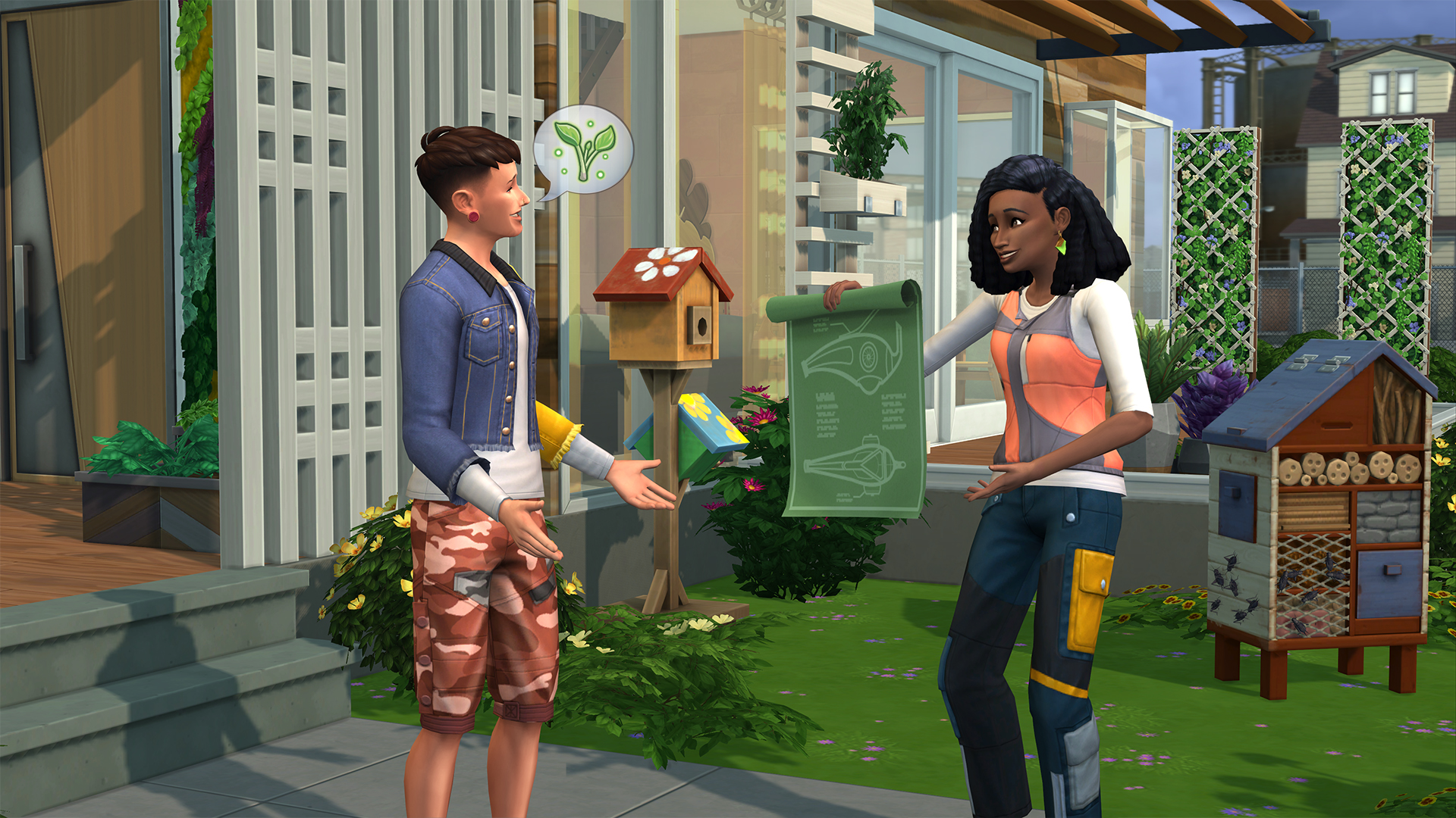 The SIms 4 Vita Ecologica Progettista Civile