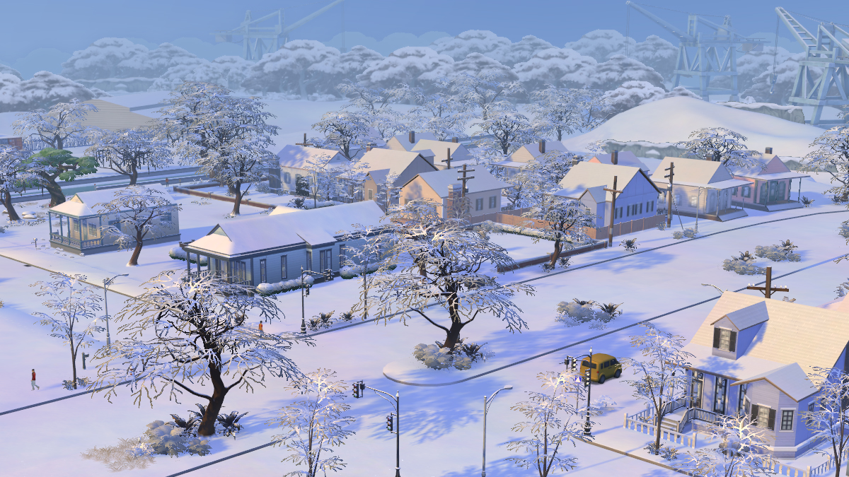 The Sims 4 Stagioni Neve